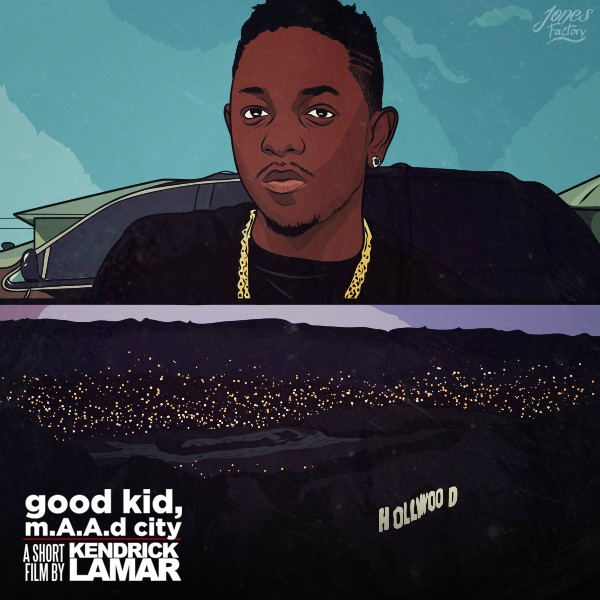 Fan-Made 'good kid, m.A.A.d city' Artwork