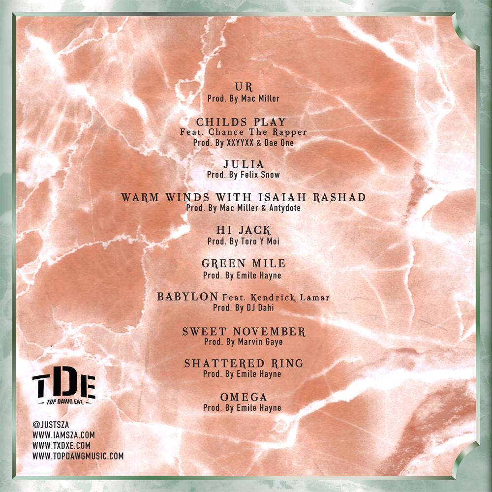 sza-z-tracklist